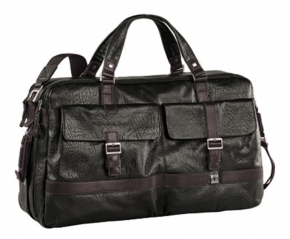 Ledertasche Piquadro für Männer / Sporttasche aus Leder