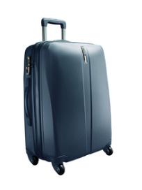 "Delsey Koffer ""Schedule"" 64cm 4 Wheel Trolley Case - blau"