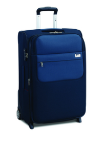 Delsey Koffer Keep n'pact 65cm Expandable Trolley Case - blau