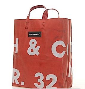 Freitag F52 Miami Vice shopping tasche rot
