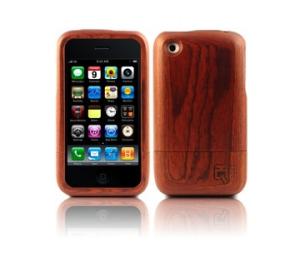 ioqoo wooden case PURE CHERRY für iPhone 3G + 3GS echtes Holz