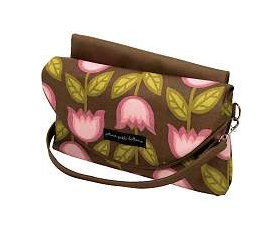 Petunia Pickle Bottom Wickeltasche als Wickelunterlage Change it Up Clutch in Heavenly Holland Design