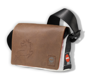 360 Grad Taschen aus Segeltuch Model Jolle Mini Leder