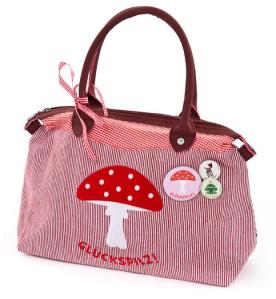 Adelheid Glückspilz Handtasche