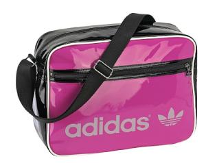 adidas airline bag in pink und glanz
