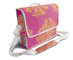 BASIL Blossom Postmen Bag in pink