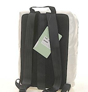Freitag F49 FRINGE Schulrucksack von hinten