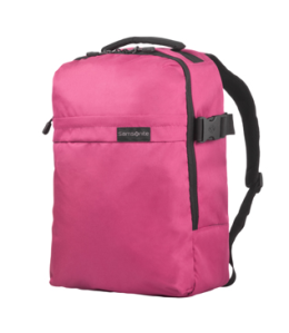 Samsonite Metatrack Laptop Rucksack in fuchsia