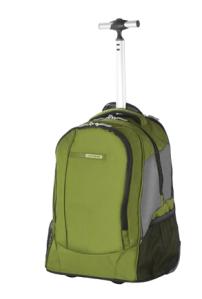 Samsonite Wander-Full Laptop Rucksack mit Rollen in grün