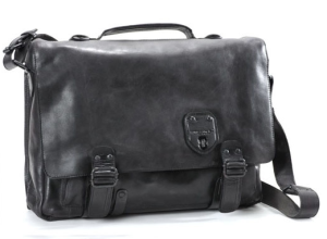 aunts and uncles Ledertasche Mr All-rounder - schwarz