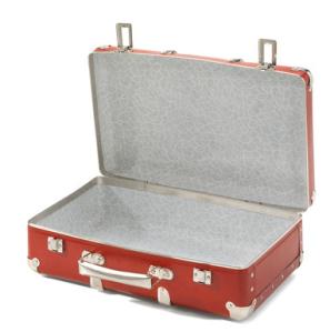 Manufactum Pappkoffer mit Holzleisten aufgeklappt