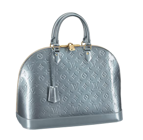 Louis Vuitton Tasche Alma in hellblau