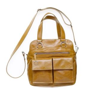 BREE Lederhandtasche Brigitte 14 - cognac