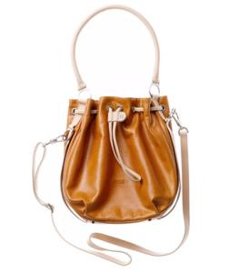 BREE Lederhandtasche Brigitte 16 - rust orange vintage