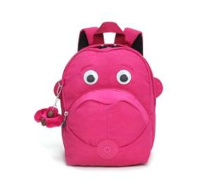 Kipling Kinderrucksack Fast - pink mit Augen
