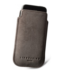 Liebeskind Berlin iPhone Sleeve Mobile 2 Wildleder in Farbe taupe