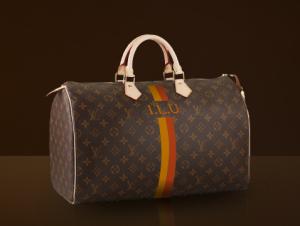 Louis Vuitton Tasche Speedy 40 personalisiert ILU