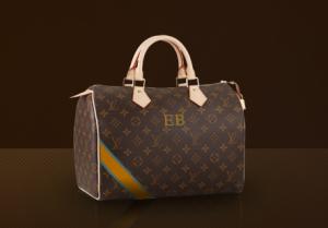Louis Vuitton Tasche Speedy personalisiert