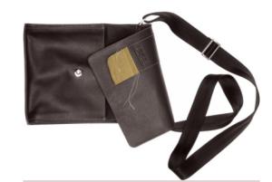 BREE XMas Schoulder Bag 2011 schwarz hochkant