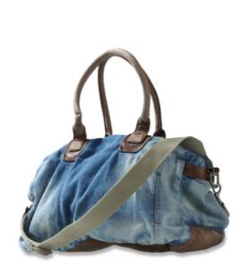 Diesel Tasche Herbst Winter 2011 Brave-Art Jeansreisetasche