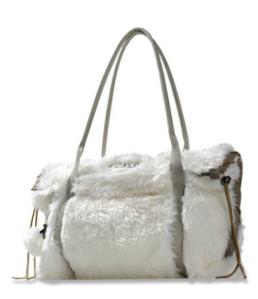Diesel Tasche Herbst Winter 2011 Crazy Fur - weiß