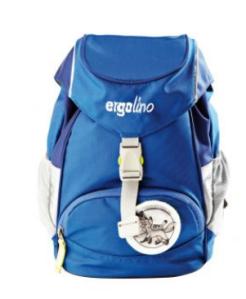 ergolino Kindergartenrucksack von ergobag - blau
