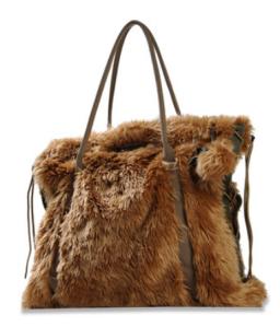 Diesel Tasche Crazy Fur braun