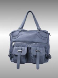 Fritzi aus Preußen Handtasche mit Außentaschen blau