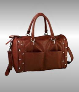 Fritzi aus Preußen Handtasche mit Nieten rot