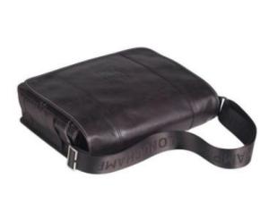 Longchamp Herrenkollektion Cavalier Messengertasche aus Leder