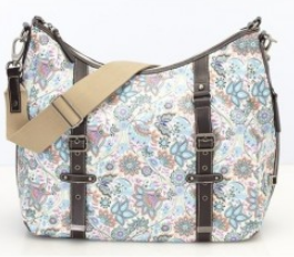 oioi Wickeltasche - Indian Paisley Classic Hobo With Buckle Detail Diaper Bag