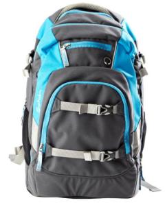 satch by ergobag - Schulrucksack für die weiterführende Schule - Anthrazit Stahlblau