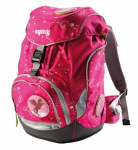 ergobag Pink Pinguin Schulrucksack für die Grundschule
