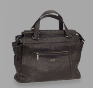Jette Joop Ledertasche Secrets City Bag in schwarz