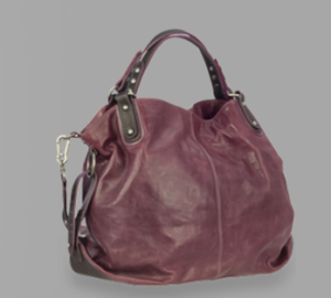 Jette Joop Ledertasche Someday City Bag in berry