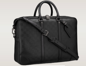 Louis Vuitton Aktentasche Voyage GM schwarz Leder Herrentasche