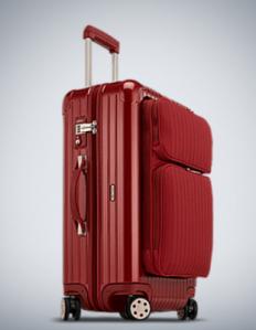 Rimowa Salsa Deluxe Koffer Multiwheel 64Liter in rot