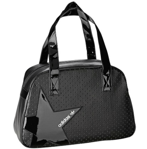 adidas Frauen Perforated Bowling Bag schwarz Stern Glanz