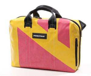Freitag Tasche Office F77 Ben gelb pink
