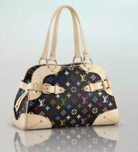 Louis Vuitton Bowlingtasche Claudia Monogram schwarz