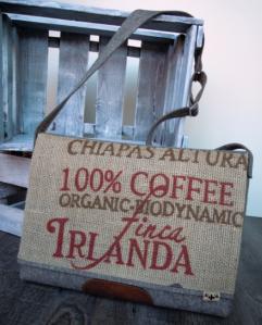 traditionsWerk Taschen aus Kaffeesack Chiapas Altura