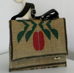 traditionsWerk Taschen aus Kaffeesack für iPad