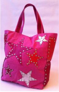 Handtasche von 00sm mit Stern