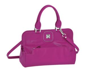 Longchamps Paris Handtasche Gatsby in rötlich violett
