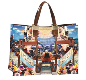 Longchamp Paris Handtasche Mary Katrantzou