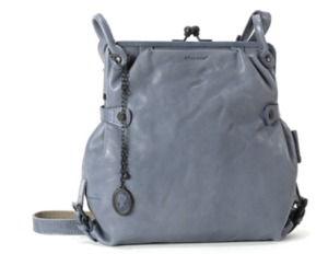 aunts and uncles Lederhandtasche Mrs Tea Cake in faded blue blau