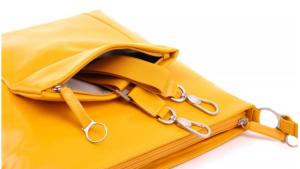 BREE Handtasche Brigitte 17 in Farbe gelb
