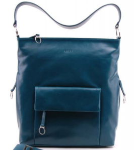 BREE Handtasche Brigitte 17 in Farbe petrol