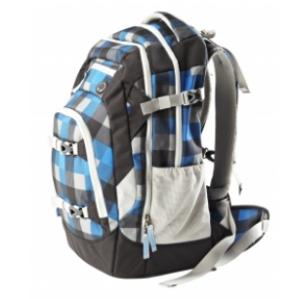 ergobag satch #8 blau grau schwarz Schulrucksack