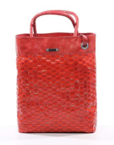 FREITAG Tote BAg R515 Williams Flechtwerk rot
